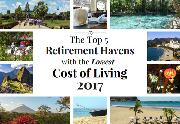 the 5 top retirement havens with the lowest cost of living. Black Bedroom Furniture Sets. Home Design Ideas