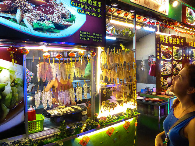 The street food capital of the world, George Town, is the perfect place to sample some of the super-inexpensive food from the many vendors. From pork satay to char koay teow (stir-fried rice noodles)…you'll be spoiled for choice.