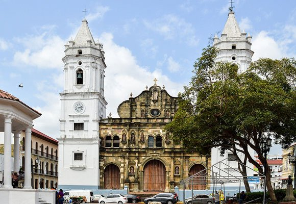 Panama City is full of many different nationalities and religions so you'll never feel like an outsider. Its diversity means that you may see a cathedral, like the Catedral Metropolitana pictured here in the same area as a synagogue or a mosque.
