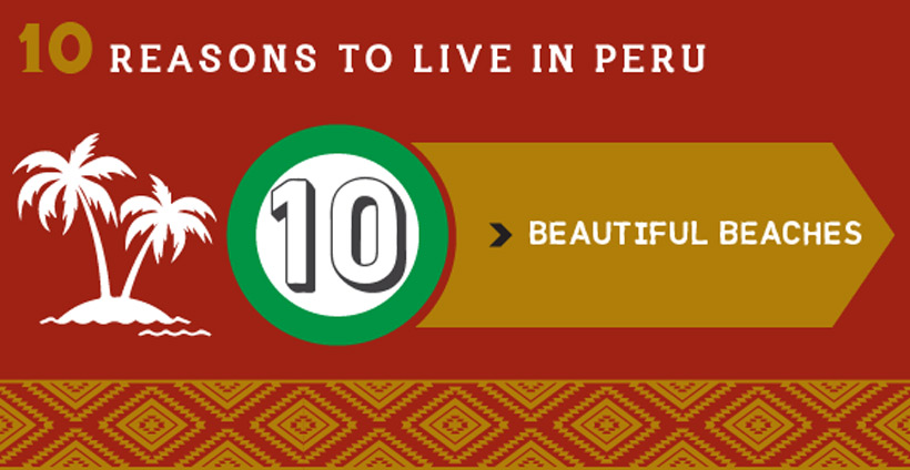 Reasons to live in Peru