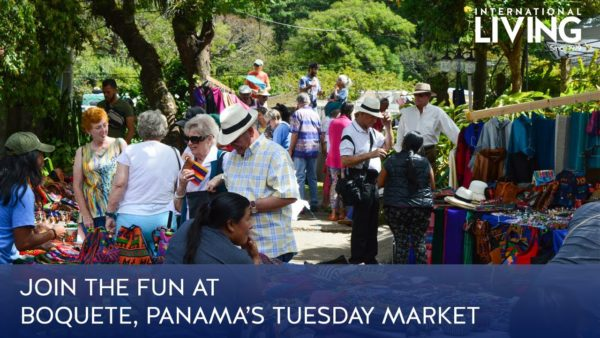 Join the Fun at Boquete's Tuesday Market