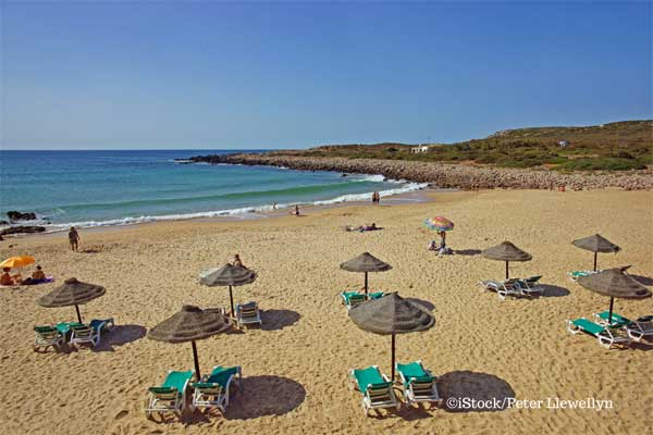 Retirement beach on the Algarve
