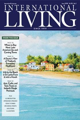 International Living Magazine cover