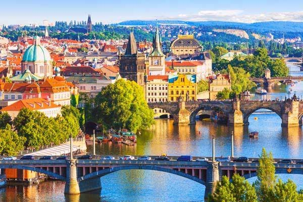 Prague Czech Republic In Body